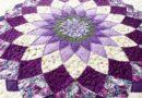 Pattern Giant Dahlia Quilt
