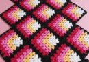 Pattern Crochet Mitered Square